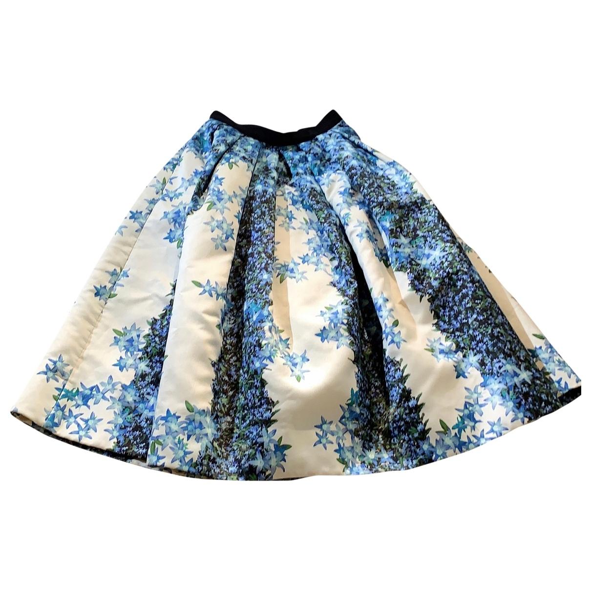 Falda midi de Seda Tibi