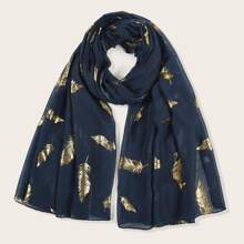 Feather Pattern Scarf