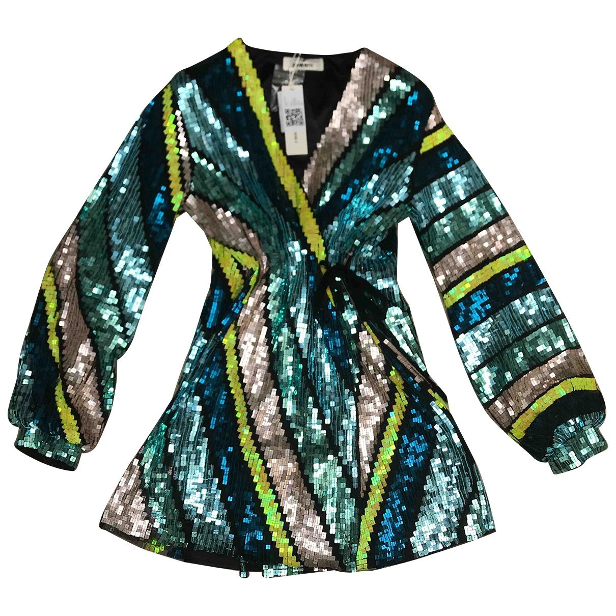 Circus Hotel - Robe   pour femme en a paillettes - multicolore