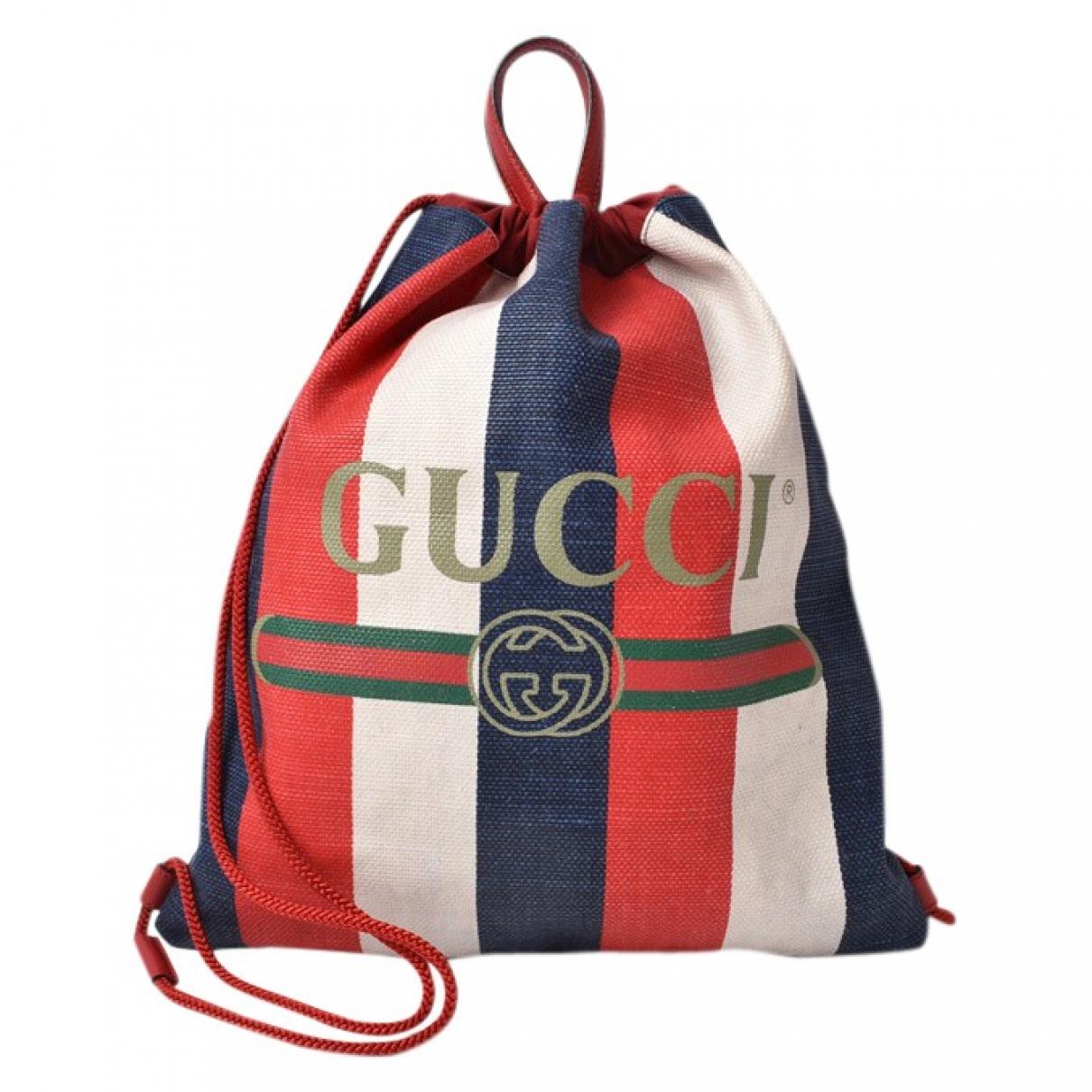 Mochila de Lona Gucci