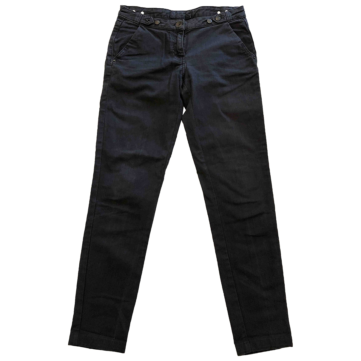 Maje \N Grey Denim - Jeans Jeans for Women 24 US