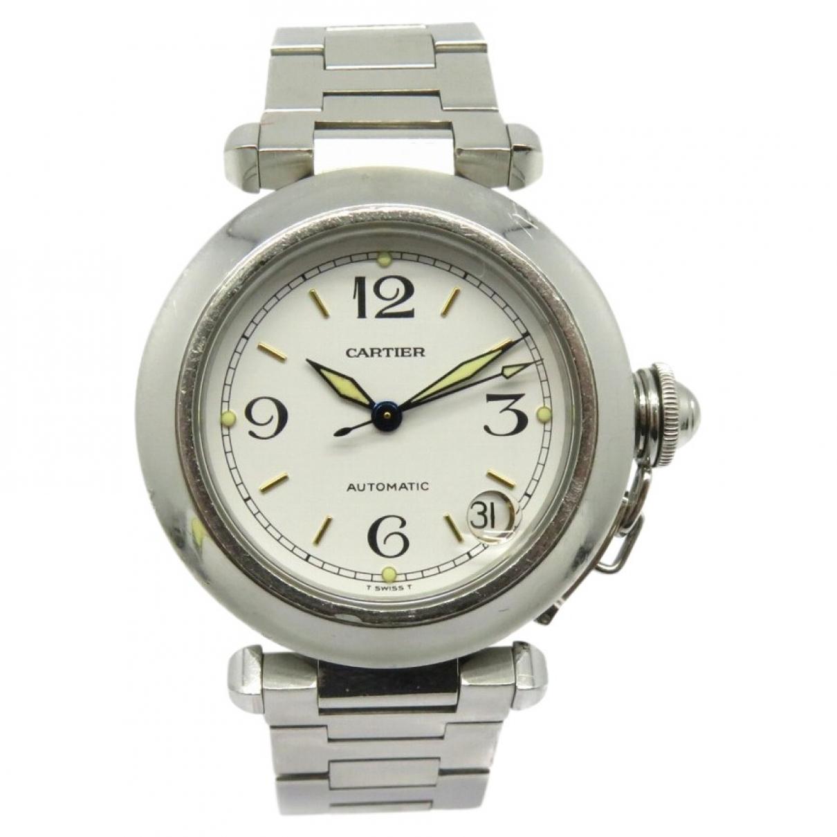 Cartier Pasha Silver Steel watch for Women \N
