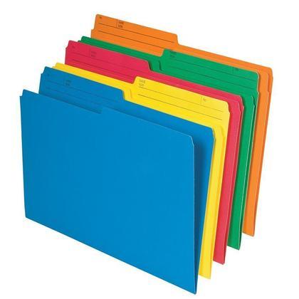 Pendaflex@ recycle color e les dossiers r eversible, 2 taille disponible, 25 dossiers par paquet - l egal