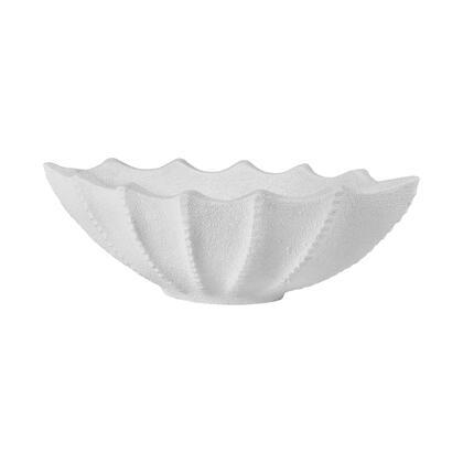 9166-109 Mermaid Planter  In White