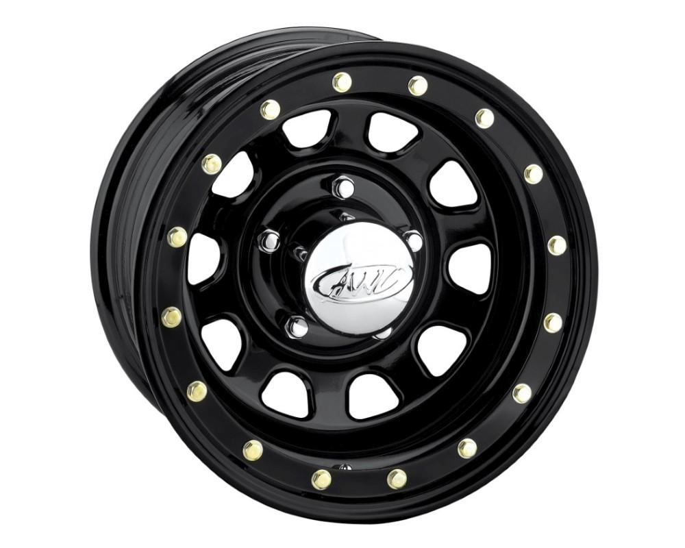 AWC 54B Daytona Wheel 15x8 6x5.5 -19mm Black