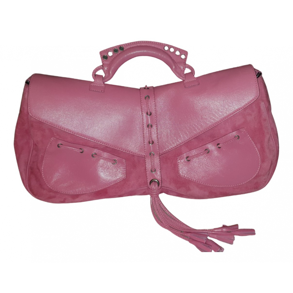 Giuseppe Zanotti \N Pink Suede handbag for Women \N
