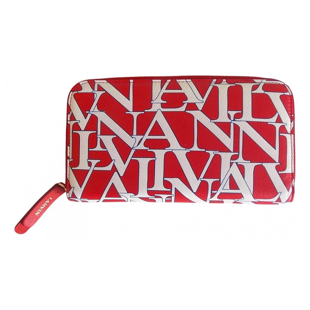 Lanvin \N Portemonnaie in  Bunt Leder