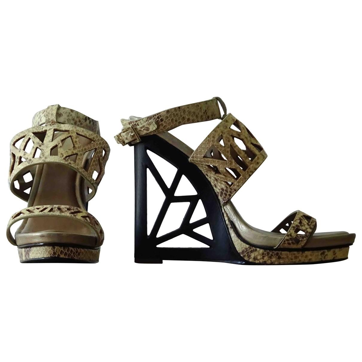 Sandalias de Cuero Bcbg Max Azria