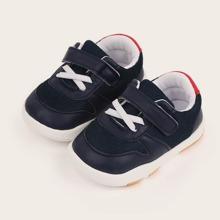 Kleinkind Jungen Sneakers mit Klettverschluss