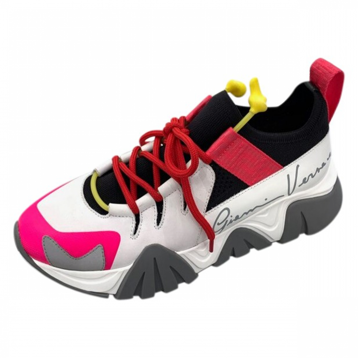 Versace \N Multicolour Leather Trainers for Women 37 EU