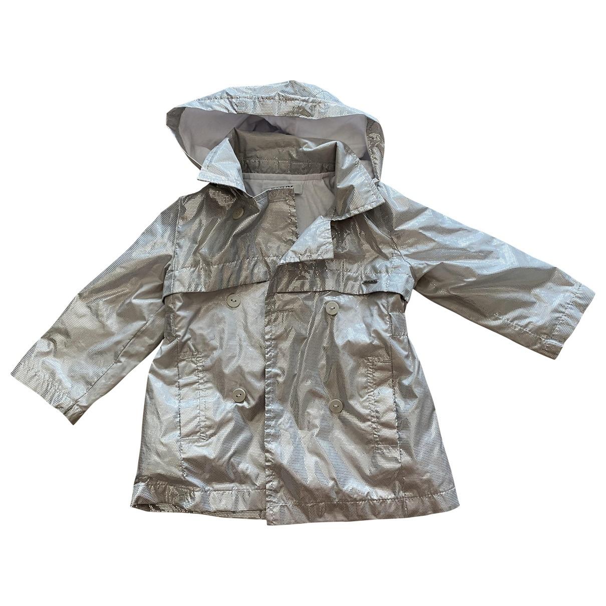 Dkny - Blousons.Manteaux   pour enfant en coton - metallise