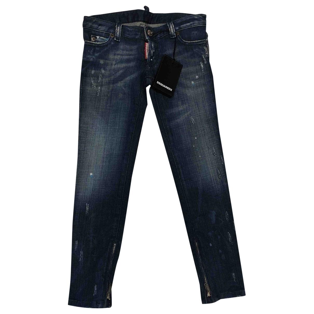 Dsquared2 - Pantalon   pour enfant en denim - multicolore