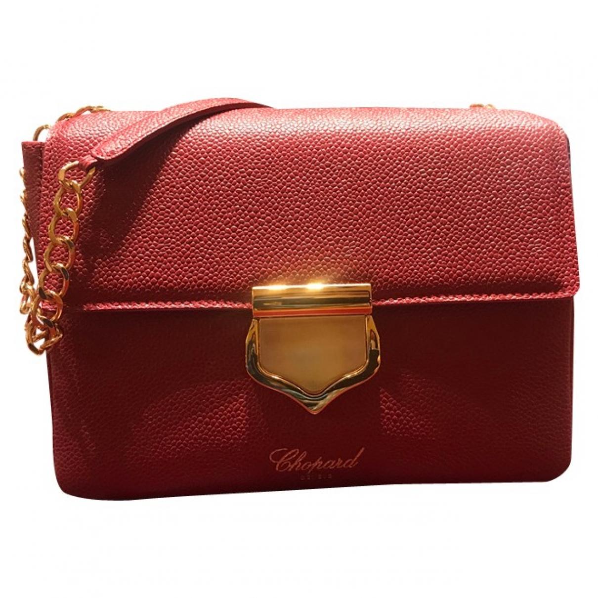 Chopard - Sac a main   pour femme en cuir - rouge