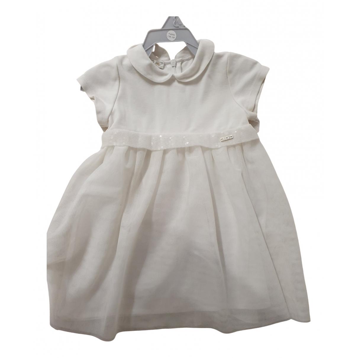 Liu.jo - Robe    pour enfant - blanc