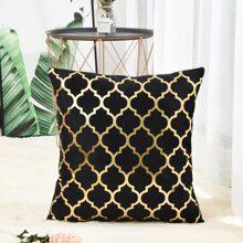 Kissenbezug mit marokkanischem Muster