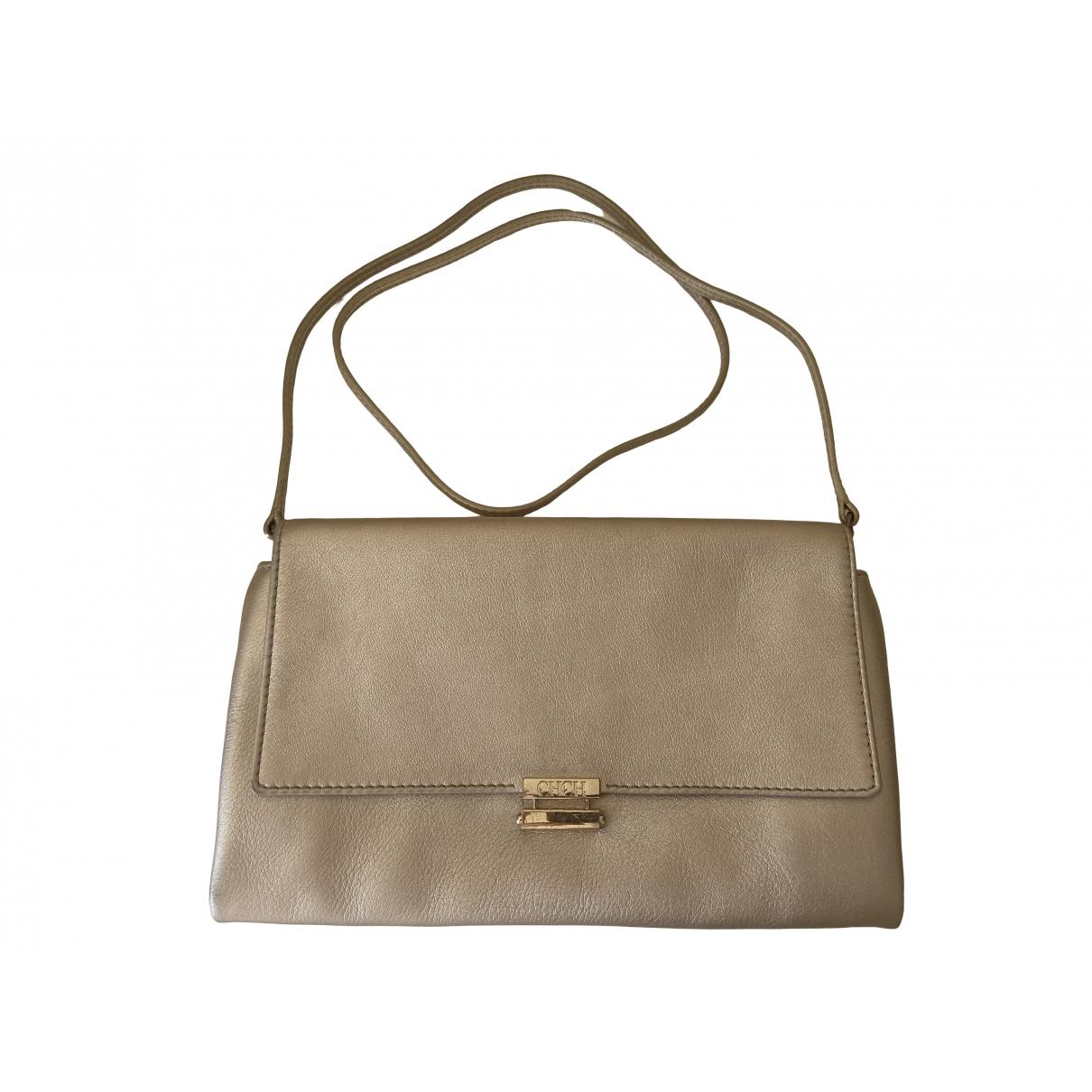 Carolina Herrera \N Handtasche in  Gold Leder