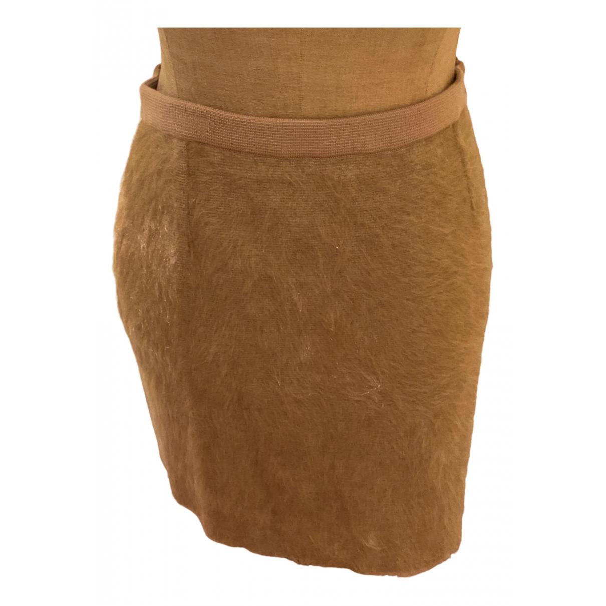 Mini falda de Lana Sonia Rykiel