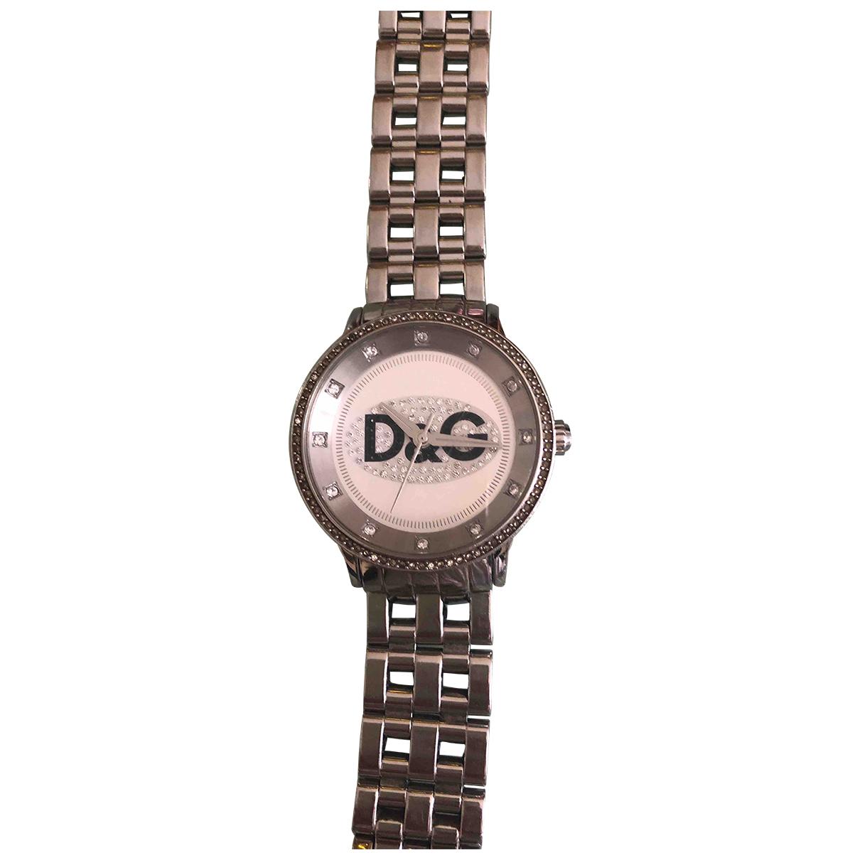 Dolce & Gabbana - Montre   pour femme en acier - argente
