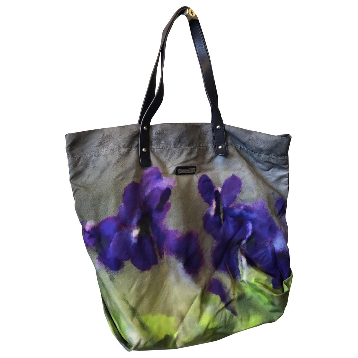 Non Signé / Unsigned \N Silk handbag for Women \N