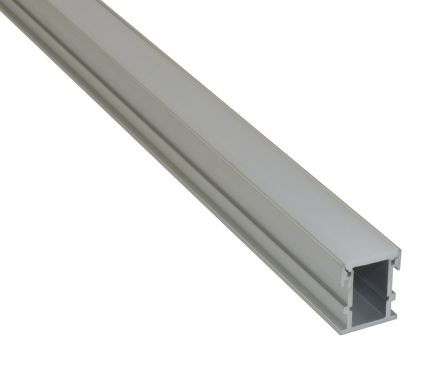 PowerLED LED Strip Extrusion & Diffuser EXT for Cove Lighting, Shelve Lighting, Skirting Board Lighting, Under Cabinet