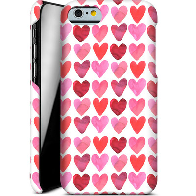 Apple iPhone 6 Smartphone Huelle - Heart Watercolour von Amy Sia