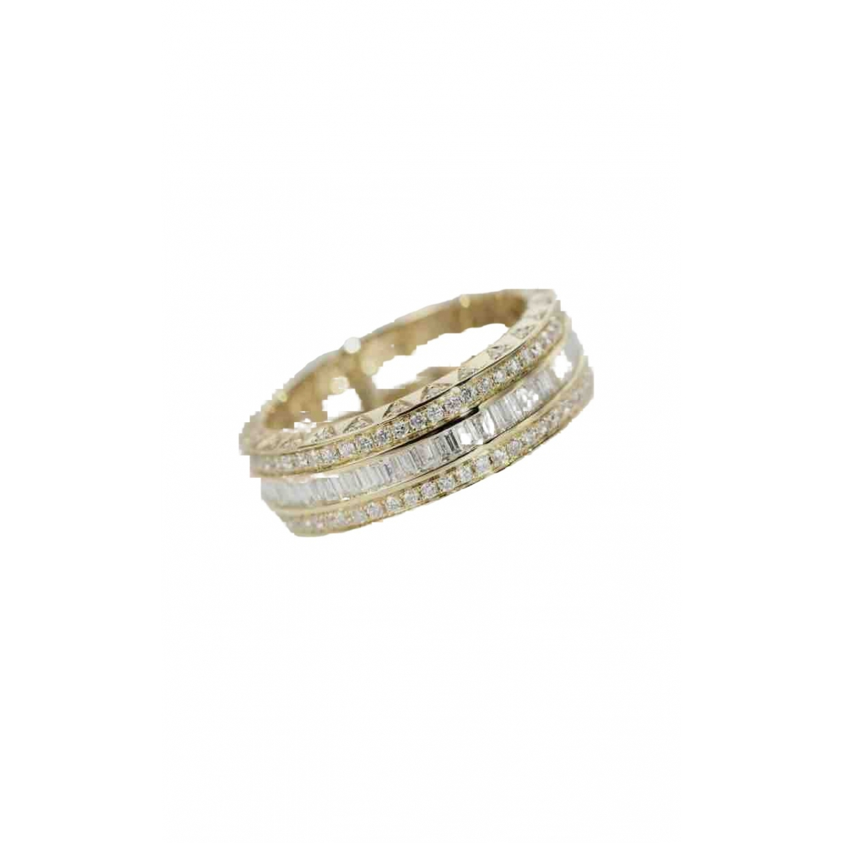Non Signé / Unsigned \N Gold Yellow gold ring for Women 8 US
