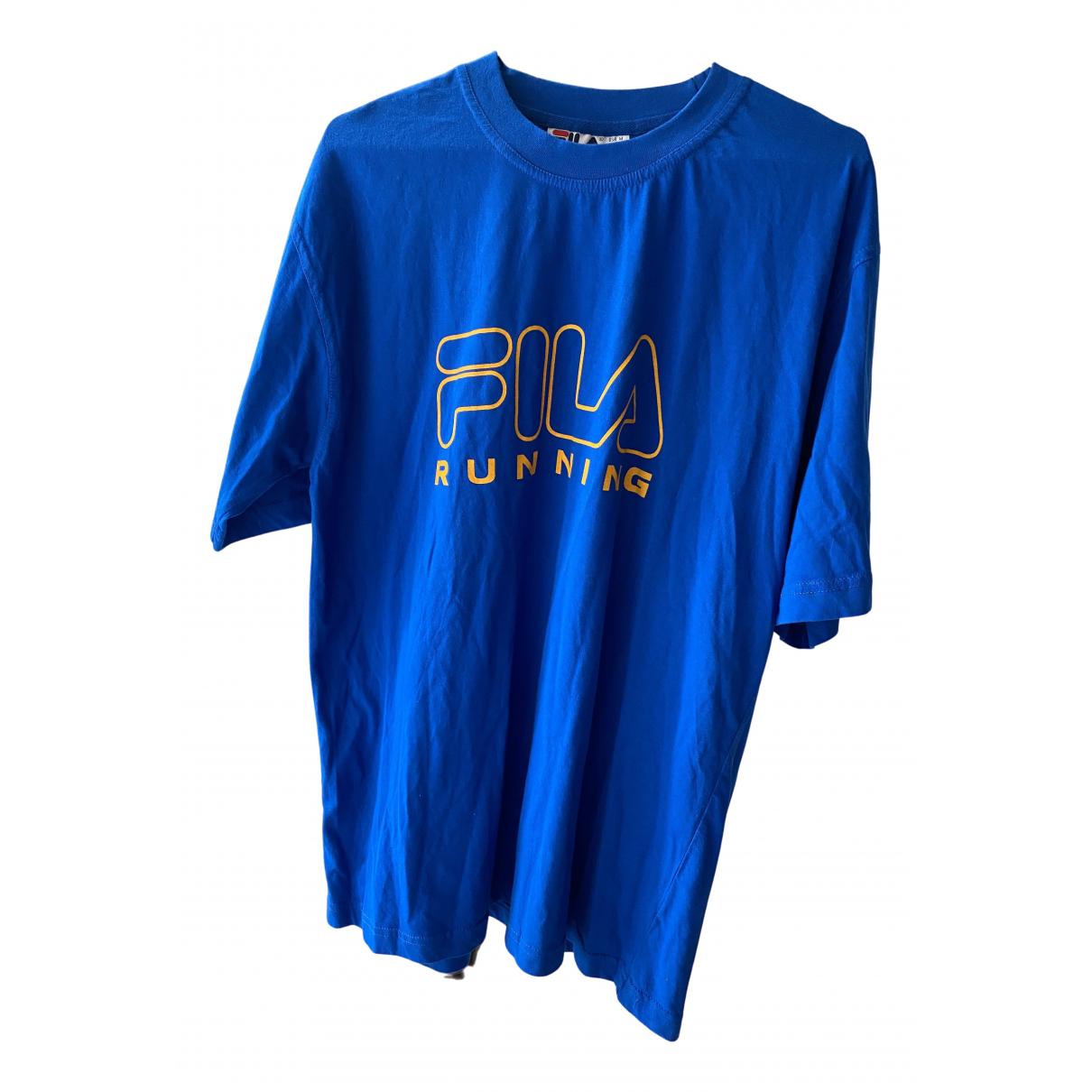 Fila \N T-Shirts in  Blau Baumwolle