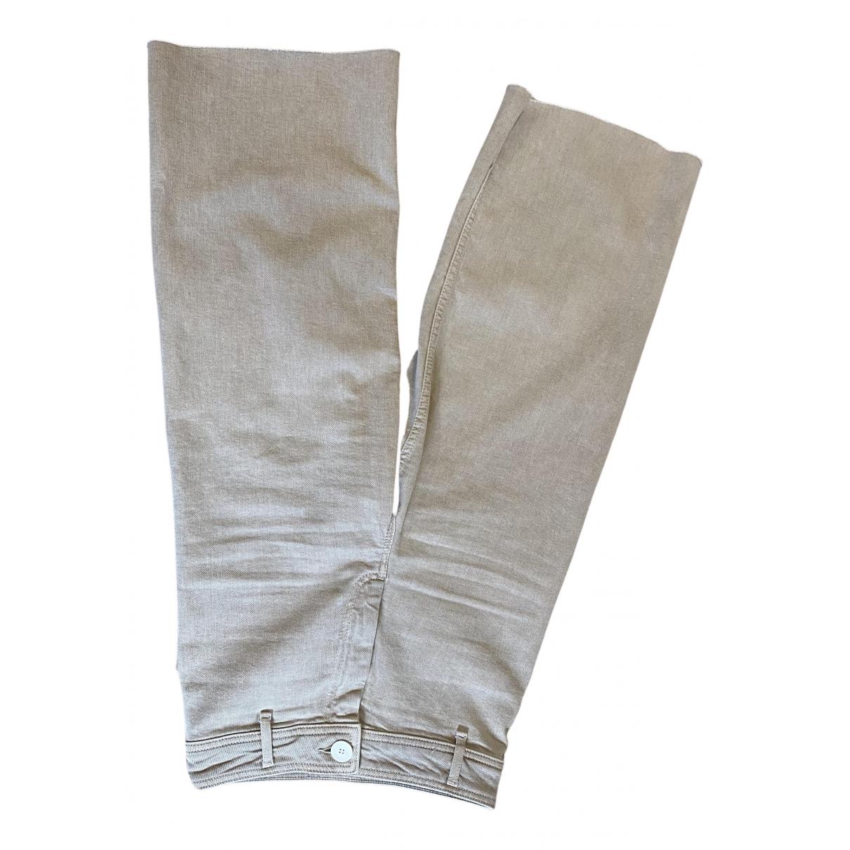 Zara \N Beige Jeans for Women 34 FR