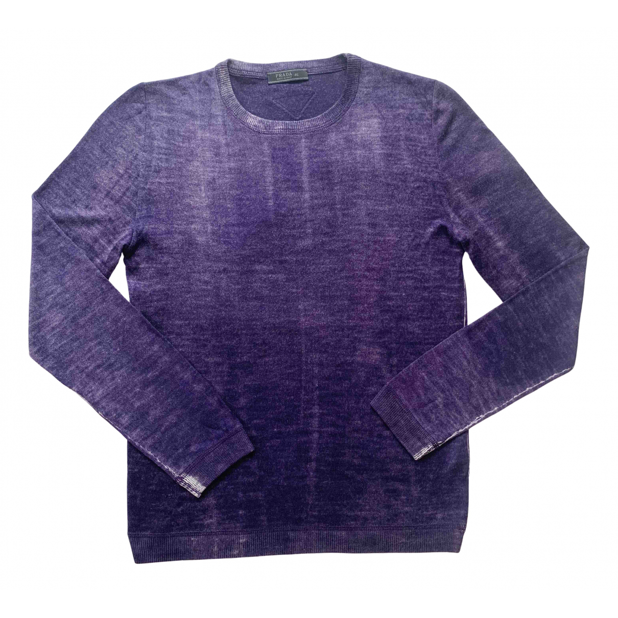 Prada \N Pullover.Westen.Sweatshirts  in  Lila Wolle