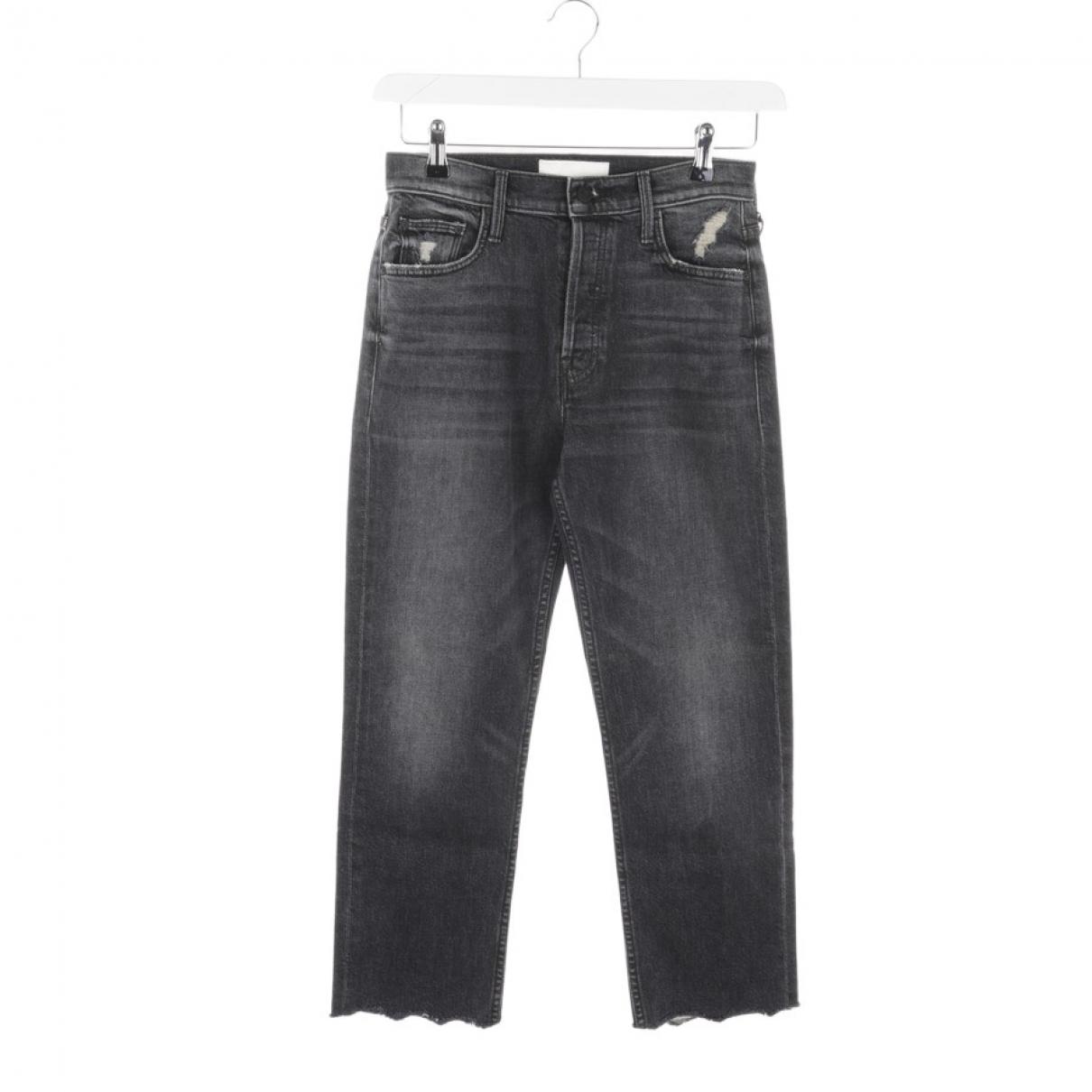 M\N Black Cotton Jeans for Women 40 FR