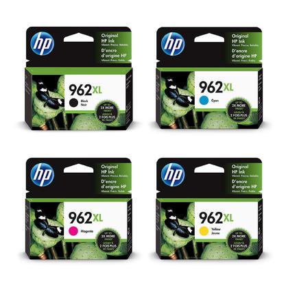 HP 962XL 3JA03AN 3JA00AN 3JA01AN 3JA02AN cartouche d'encre originale combo haute capacité BK/C/M/Y