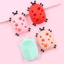 1 pieza herramienta de limpieza de cepillo de maquillaje