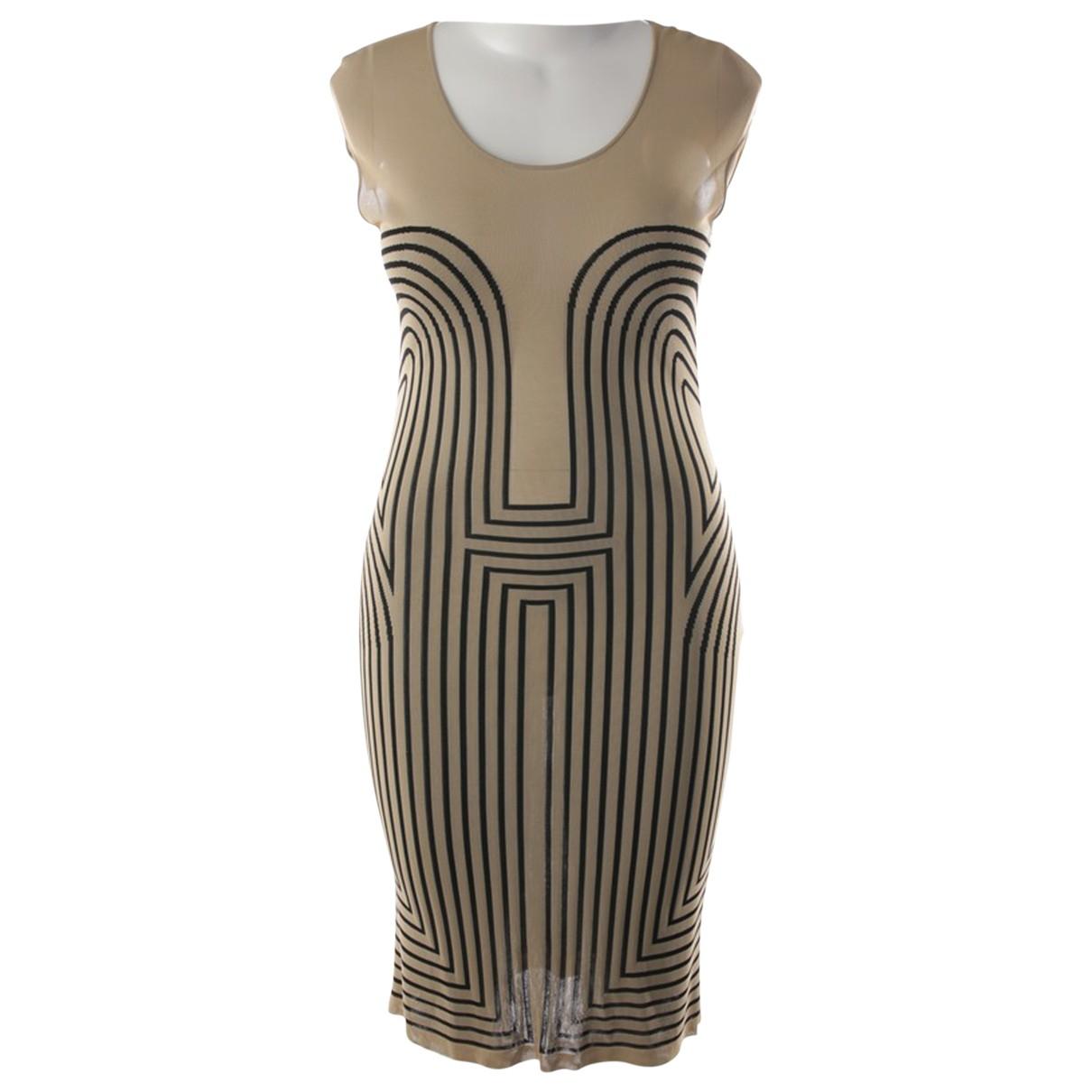 Alexander Mcqueen \N Beige dress for Women XL International