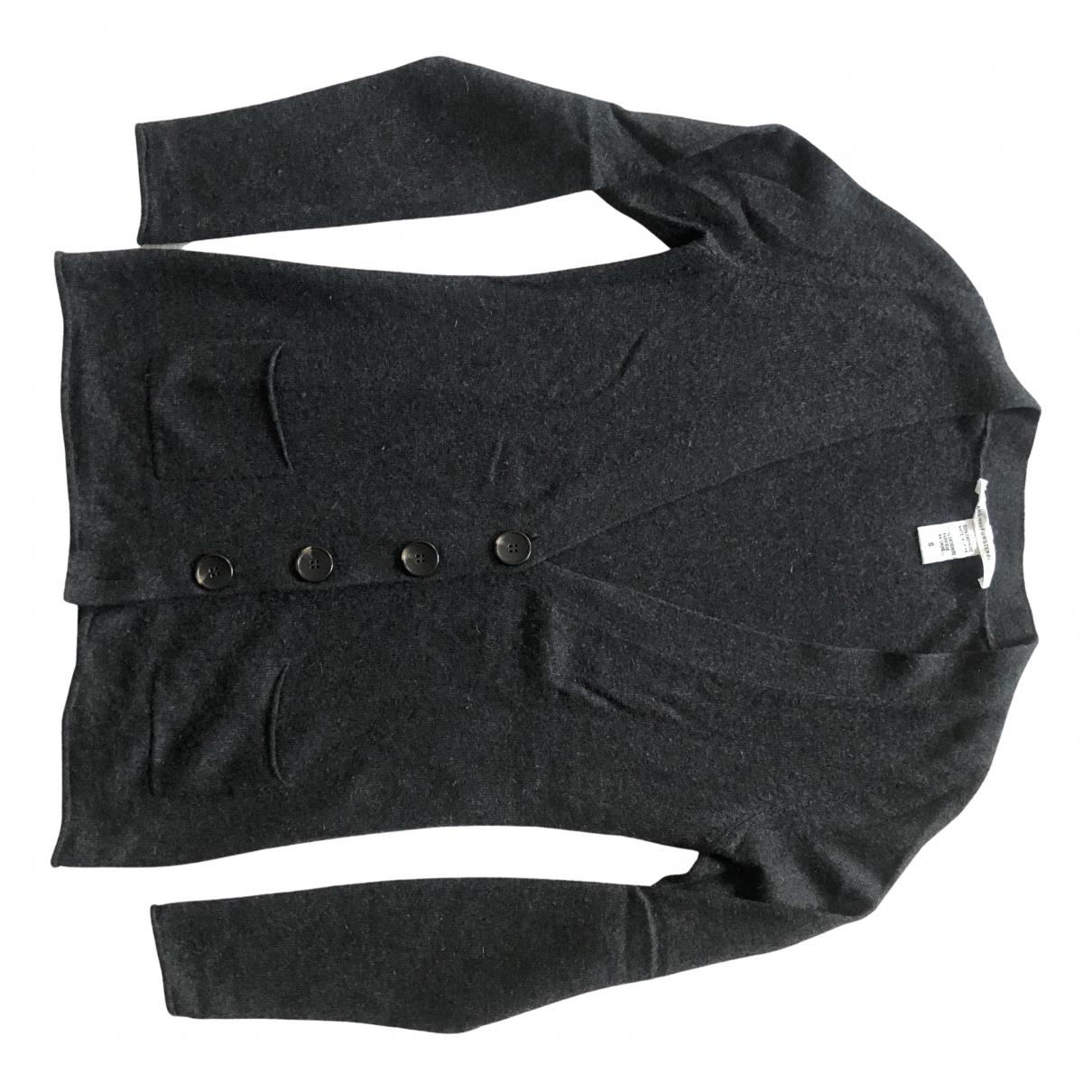 Diane Von Furstenberg \N Pullover in  Anthrazit Kaschmir