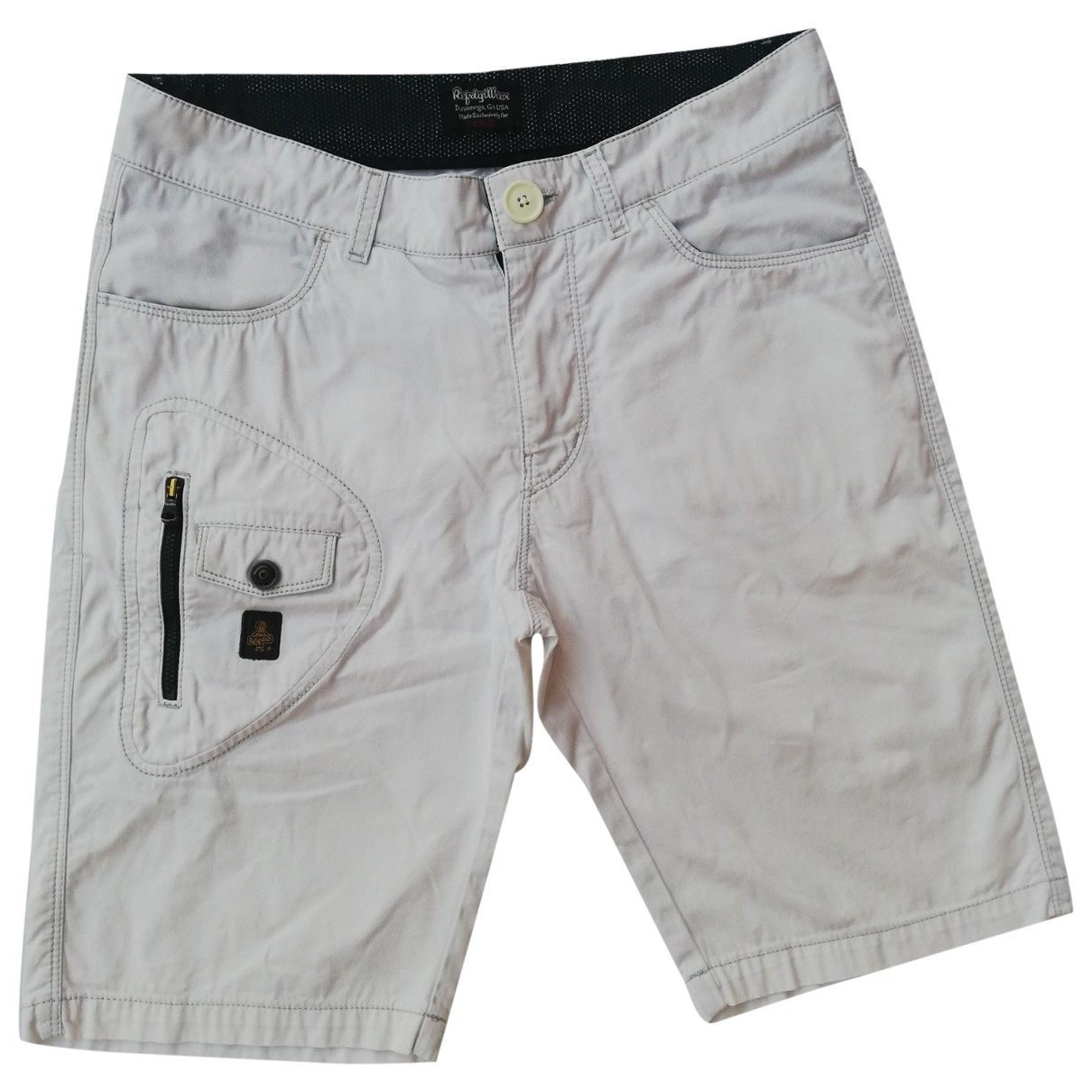 Non Signe / Unsigned \N Shorts in  Weiss Baumwolle