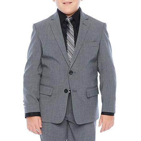 Van Heusen Big Boys Suit Jacket, 20 , Black