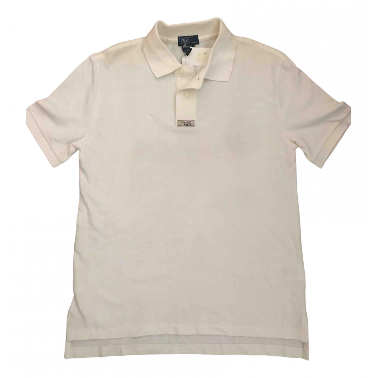 Camisetas en Algodon Beige Polo Ralph Lauren