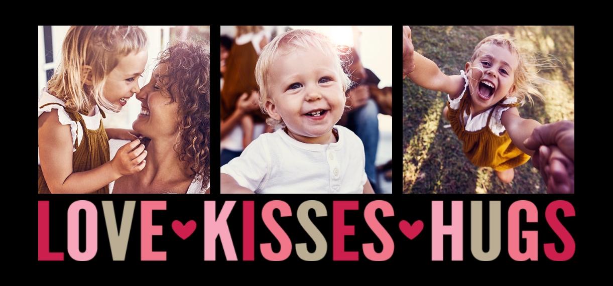 Baby + Kids 11oz Hidden Picture Mug, Gift -Love Kisses Hugs