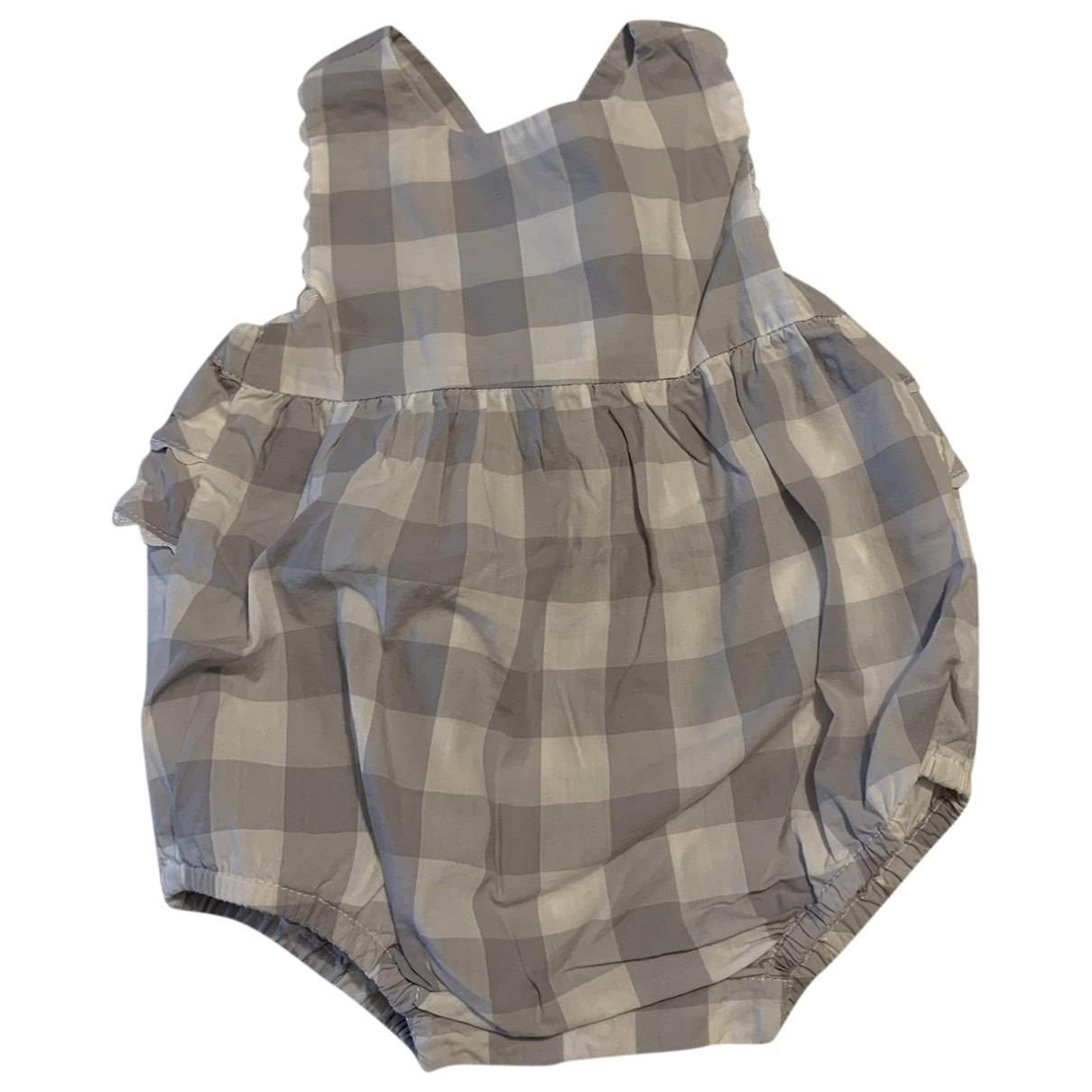 Jacadi - Robe    pour enfant en coton - gris