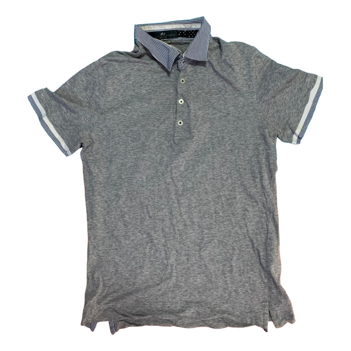 Daniele Alessandrini \N Grey Cotton  top for Women 48 IT