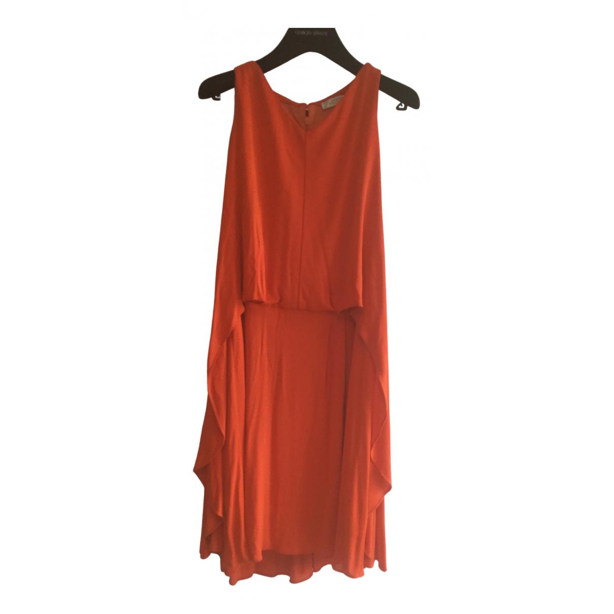 Versace \N Kleid in  Orange Synthetik