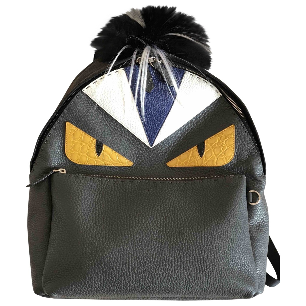 Fendi \N Multicolour Leather backpack for Women \N
