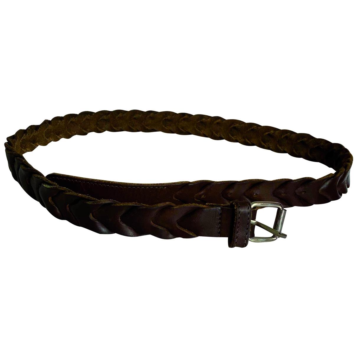 Cinturon de Cuero Mauro Grifoni