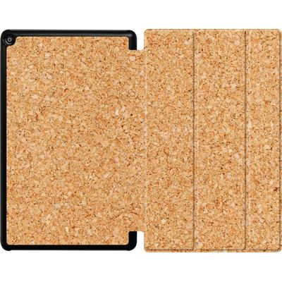 Amazon Fire HD 10 (2018) Tablet Smart Case - Cork von caseable Designs