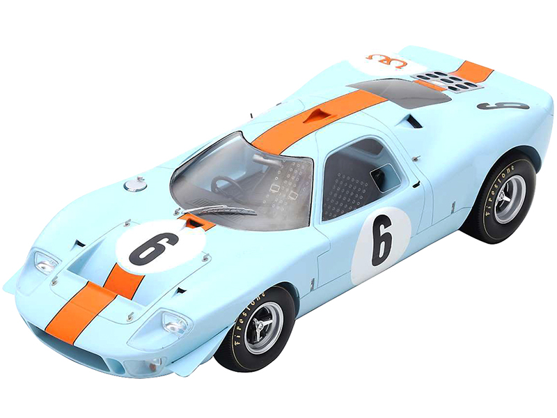 Ford Mirage 6 Jacky Ickx - Dick Thompson Winner 1000km Spa-Francorchamps (1967) 1/18 Model Car by Spark