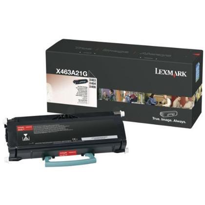 Lexmark X463A21 cartouche de toner originale noire