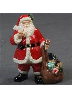 Porcelain Christmas Decorative Artware  Santa Claus Artwork