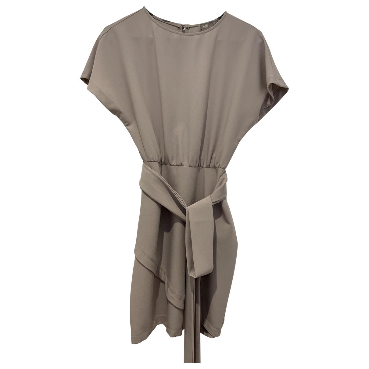 Asos \N Kleid in  Grau Synthetik