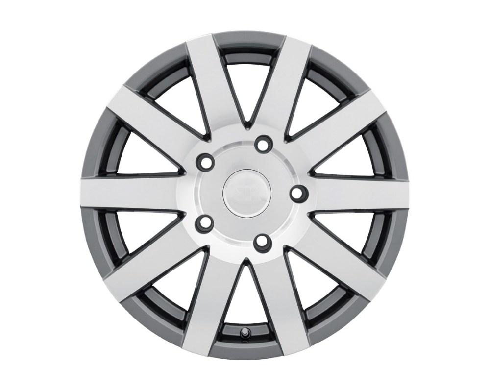 Black Rhino Journey Gloss Gunmetal w/ Mirror Cut Face Wheel 17x7.5 5x130 45mm CB84.1