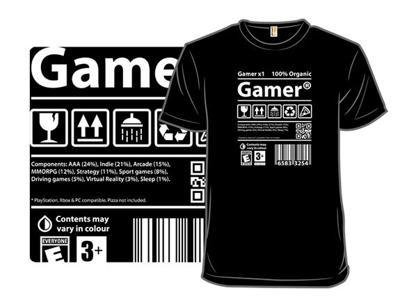 Gamer Label T Shirt